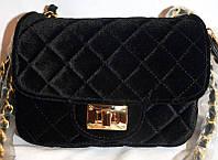 Женская сумка/клатч Chanel, Шанель, велюровый, 058136, фото 1