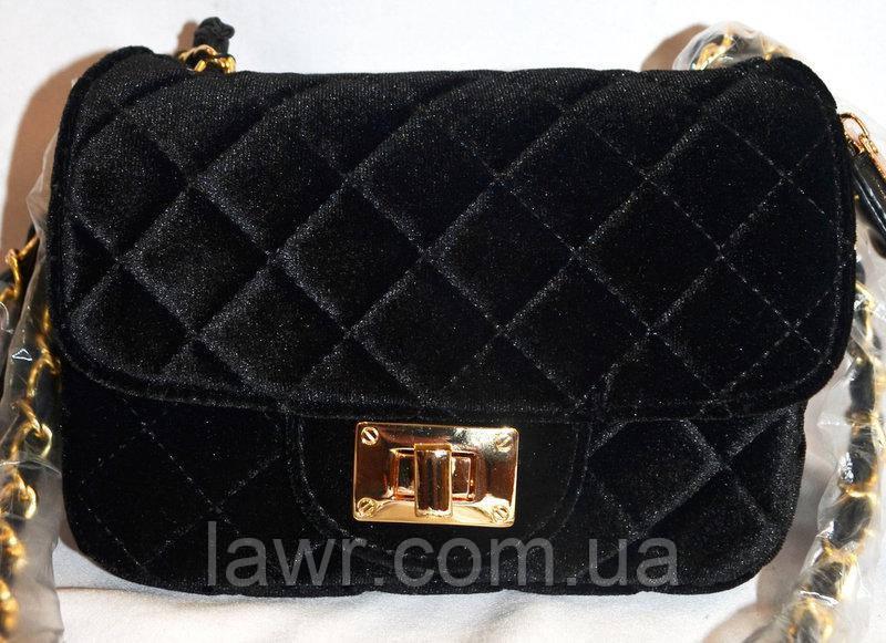 bde9b44d1306 Женская сумка/клатч Chanel, Шанель, велюровый, 058136 - Интернет-магазин