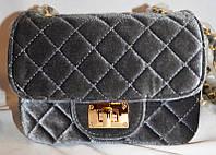 Женская сумка/клатч Chanel, Шанель, велюровый, 058137, фото 1