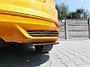 Накладки на задний бампер Ford Focus MK3 ST дорест., фото 3