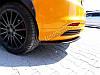 Накладки на задний бампер Ford Focus MK3 ST дорест., фото 4