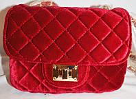 Женская сумка/клатч Chanel, Шанель, велюровый, 058139, фото 1