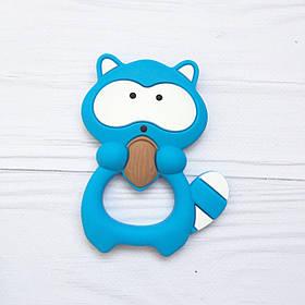 Енот (голубой) прорезыватель для зубов