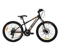 Велосипед Crosser Fox 26 Черный (20181116V-391)