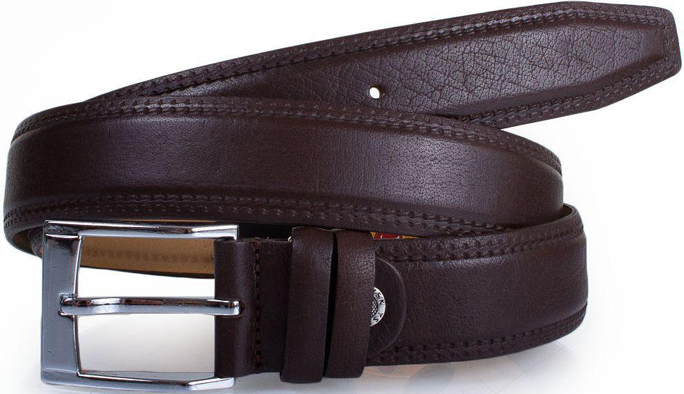 Купить Ремень для мужчин Y.S.K. SHI1026-2 из натуральной кожи 3, 5 см, коричневый, YSK