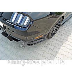 Боковые накладки заднего бампера Ford Mustang MK6 GT