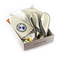 Подарочный набор для сауны Luxyart №2 БМВ, для него, 5 предметов (N-107)