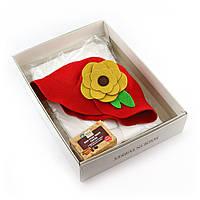 Подарунковий набір для сауни Luxyart №5 Дюймовочка для неї, 3 предмета (N-152)