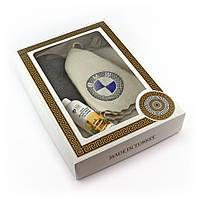 Подарочный набор для сауны Luxyart №6 БМВ, для него, 4 предмета (N-123)