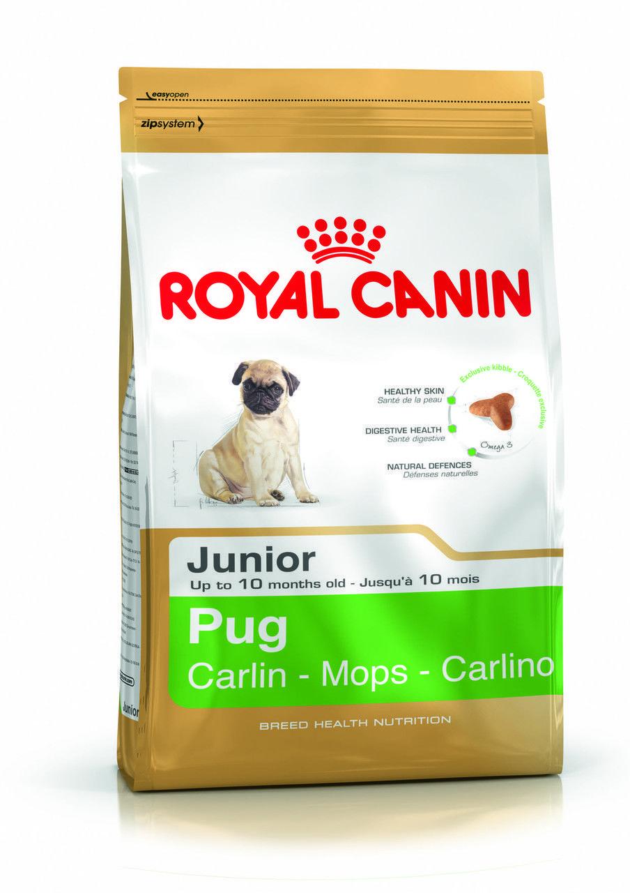Royal Canin Pug Junior 0,5кг  (на вес ) - корм для щенков мопс