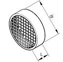 Решітка вхід 60 мм (фільтр на опалювач). - 25 1688 80 0600, фото 2