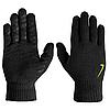 Рукавички Nike Knitted Tech And Grip Handschoenen Black Volt