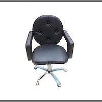 Парикмахерское Кресло для клиента салона красоты мод.Лотос (Lotos) кресла для парикмахерских салонов