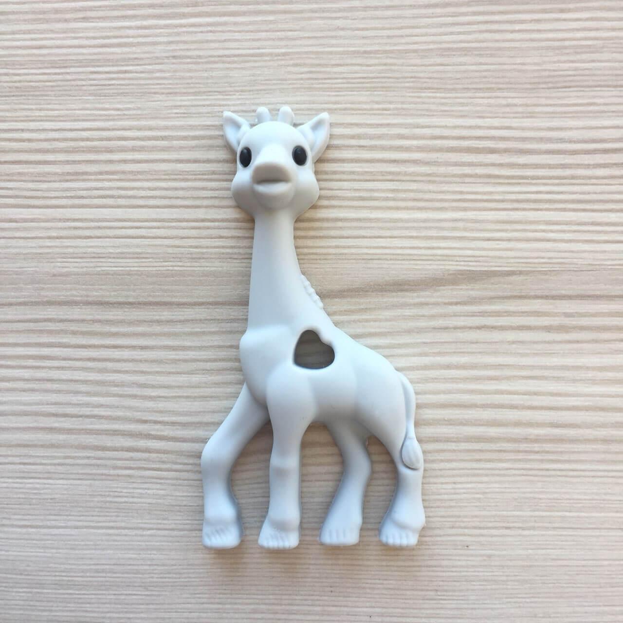 Жираф (светоо серый) прорезыватель для зубов