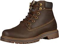 Мужские зимние ботинки из натуральной кожи с натуральным мехом овчины - Dockers (США). , фото 1