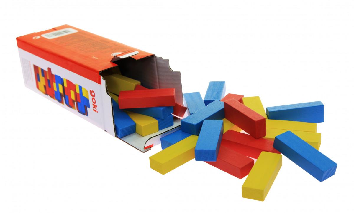 Дженга Разноцветная башня