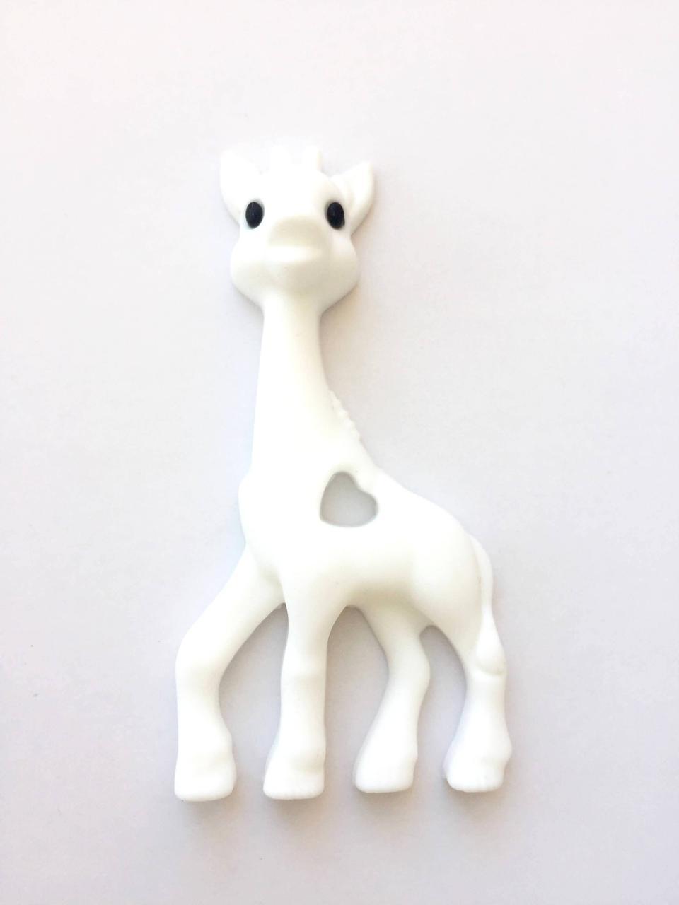 Жираф (белый) прорезыватель для зубов