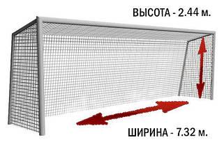 Большие футбольные ворота