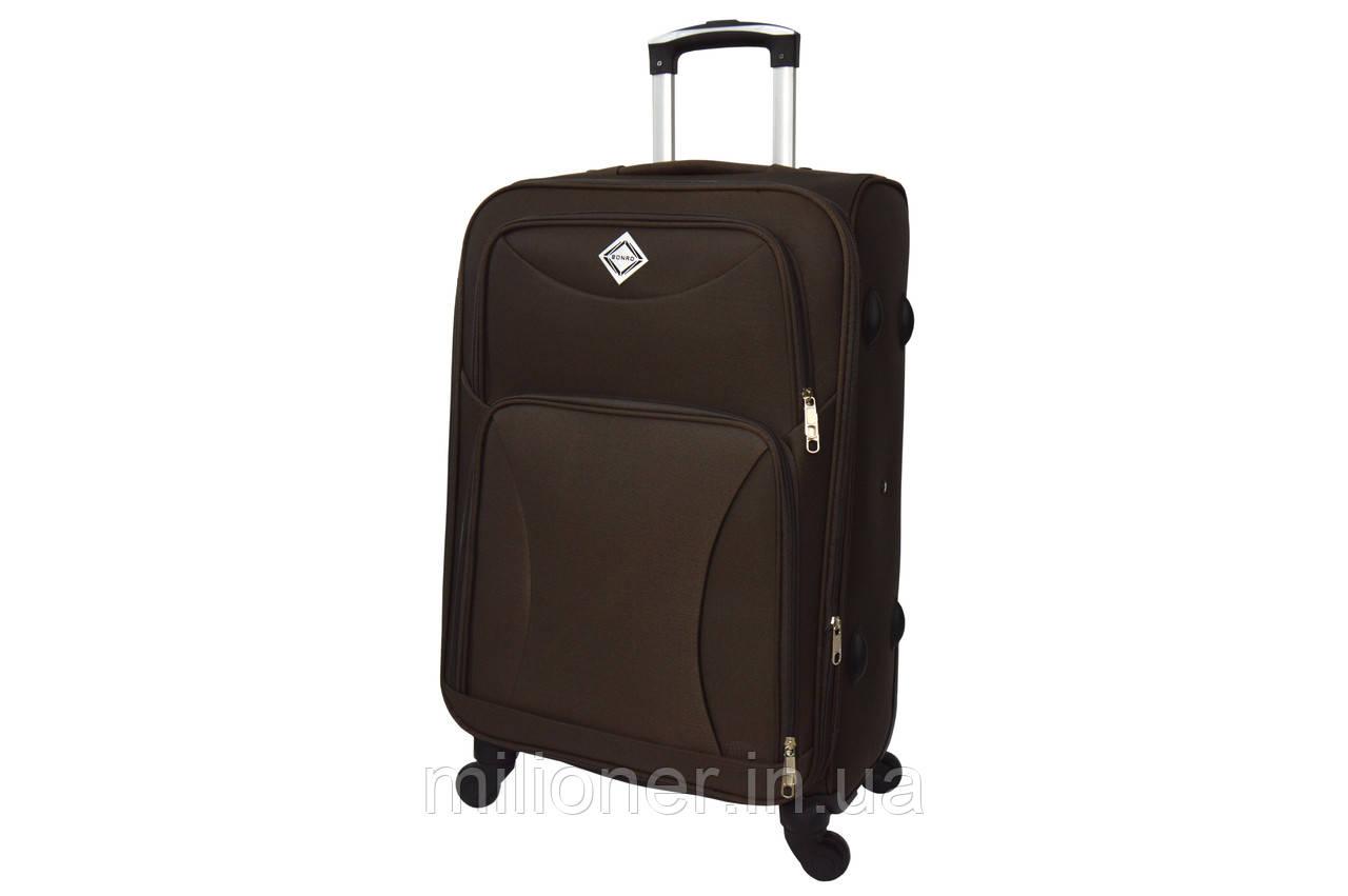 Чемодан Bonro Tourist 4 колеса (большой) коричневый