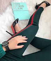 """Женские лосины с лампасом """"Bentley""""В И ( 3 цвета), фото 1"""