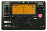 Тюнер-метроном Korg TM-50C BK