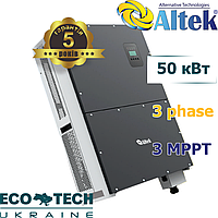 Altek АKSG-50K-TM солнечный сетевой инвертор (50,0 кВт, 3 фазы, 3 MPPT)