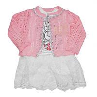 Платье для девочки 68-86 +болеро , арт.71011