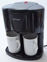Кофеварка электрическая на 2 чашки Livstar LSU-1189