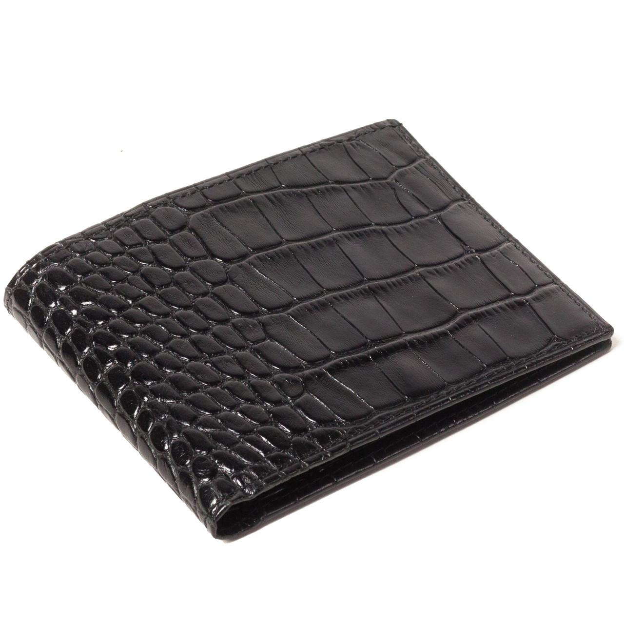 Мужской кошелек кожаный черный Eminsa 1051-4-1