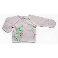 Распашонка утепленная для новорожденных (унисекс) Модный карапуз 302-00012-2