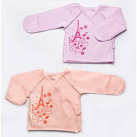 Распашонка для новорожденных (для девочек) Модный карапуз 302-00012-0