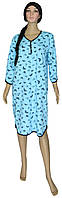 NEW! Теплые женские ночные рубашки серии Pretty Soft Blue ТМ УКРТРИКОТАЖ!