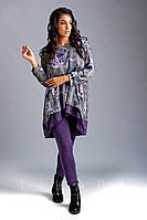 """Брючный костюм """"Likara-Flower"""". Размеры: батал(50,52,54,56); супербатал(58,60,62). Розница+30 грн."""