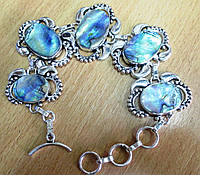 """Серебряной браслет с галиотисом """"Скарабей"""" от LadyStyle.Biz, фото 1"""