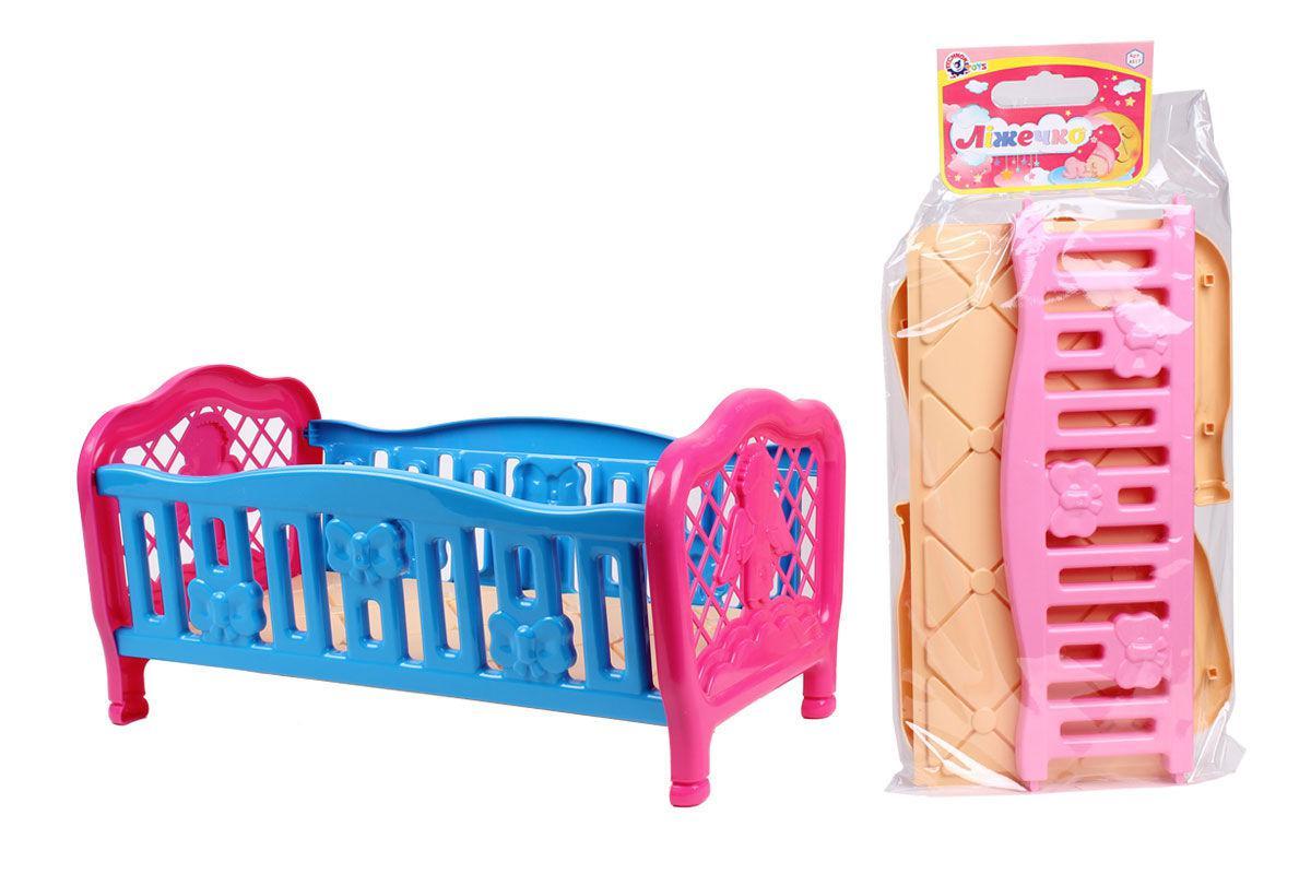 """Іграшка """"Ліжечко для ляльки ТехноК"""", 4517, в кульку"""