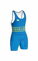 Трико для борьбы Сборной Украины 2017 синее