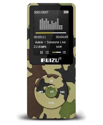MP3 Плеер RuiZu X02 8Gb Original Камуфляж, фото 2