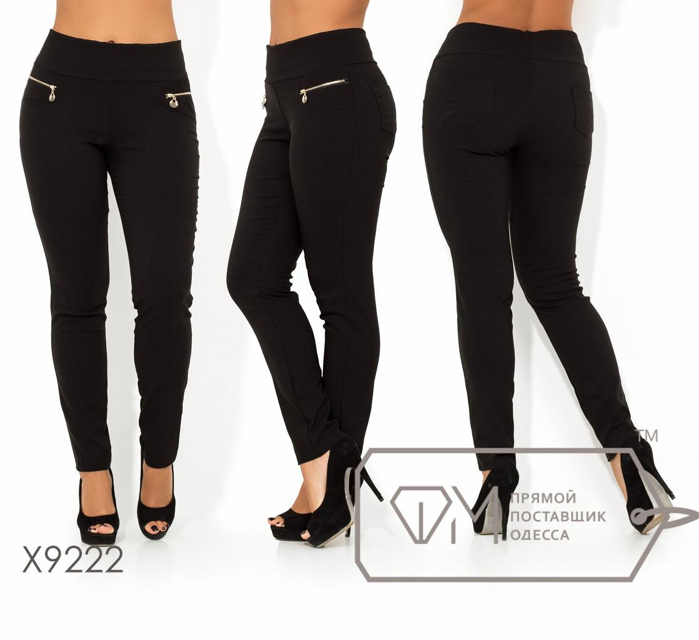 Женские брюки большого размера на средней посадке FMX9222