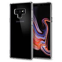 Чехол Spigen для samsung Galaxy Note 9 Ultra Hybrid, Crystal Clear (599CS24573)