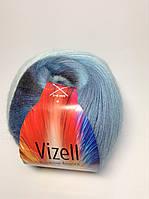 Пряжа rainbow angora Vizell
