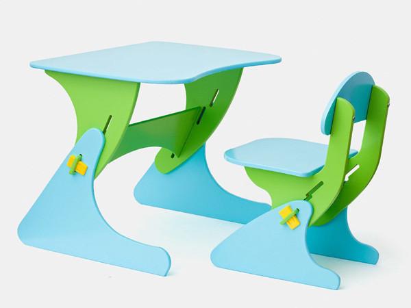 Стілець і стіл з регульованою висотою SportBaby