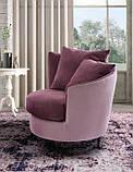 Дизайнерское круглое кресло PRIVE, фабрика LeComfort (Италия), фото 3