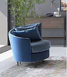 Дизайнерское круглое кресло PRIVE, фабрика LeComfort (Италия), фото 6