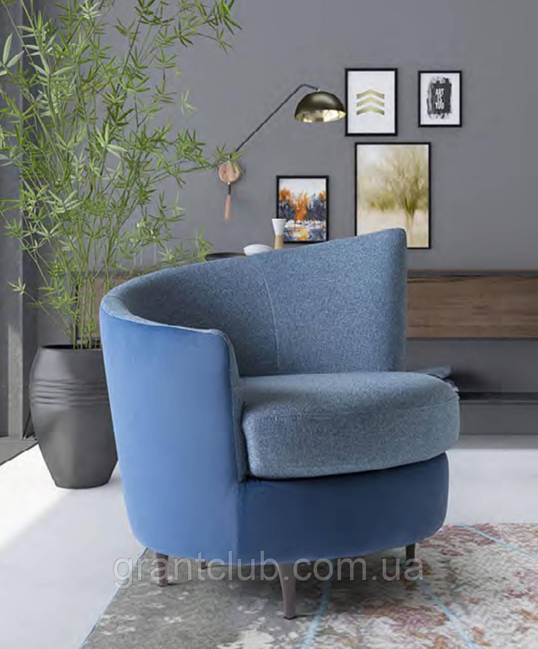 Дизайнерское круглое кресло PRIVE, фабрика LeComfort (Италия)