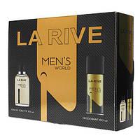 Мужской подарочный набор MAN'S WORLD LA RIVE HIM-065654