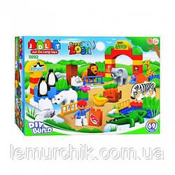 Конструктор JDLT 5092 «Зоопарк» - аналог Lego Duplo, 68 дет