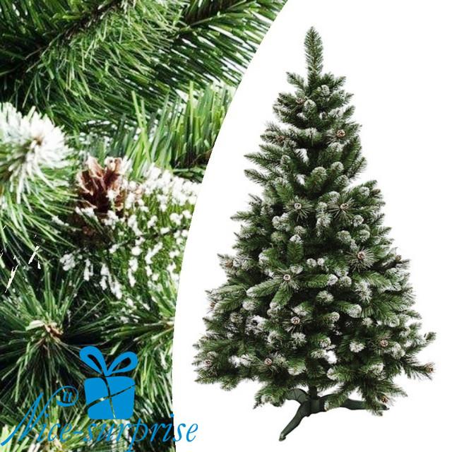 купить искусственную елку с шишками в Украине