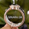Мужское серебряное кольцо Барака Baraka с золотом, ониксом и каучуком, фото 2