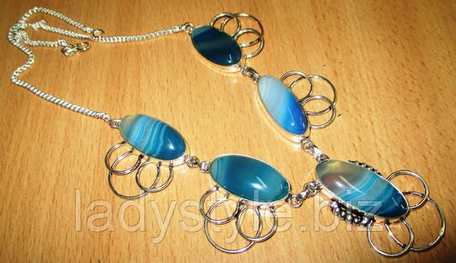 купить серебряный браслет с моховым агатом ювелирные серебряные браслеты с натуральными камнями