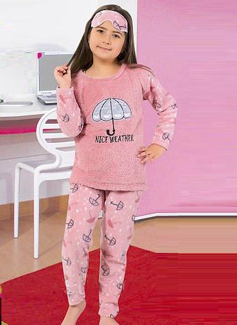 9c7ebfc10f1a Теплая детская махровая пижама Турция для девочки, цена 390 грн ...